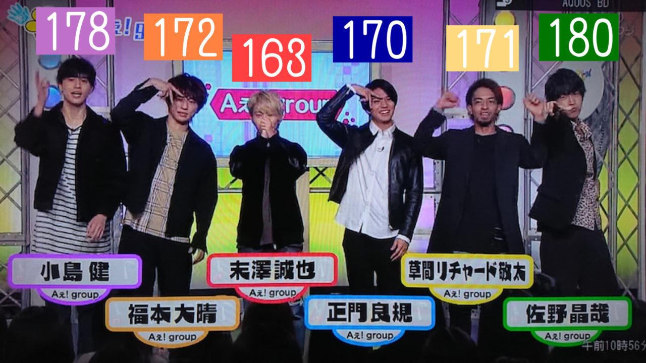 ええ グループ メンバー Aぇ!group(えぇグループ)メンバーの年齢順は?入所日の順番も気にな...